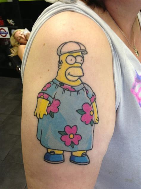 the simpsons tattoo the simpsons simpsons homer homer marge