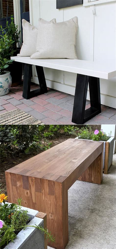stylish benches 21 gorgeous diy benches for every room a piece of rainbow