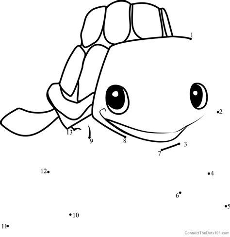 dot to dot turtle printable sea turtle animal jam dot to dot printable worksheet