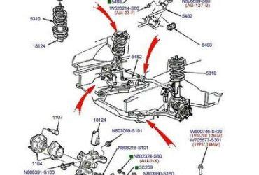 2002 ford taurus rear suspension diagram 2004 ford taurus suspension diagram wedocable