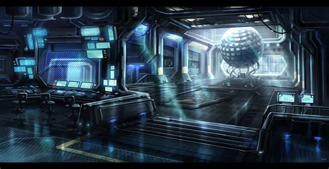 Sci Fi Interior by Sci Fi Interior By Blueroguevyse On Deviantart