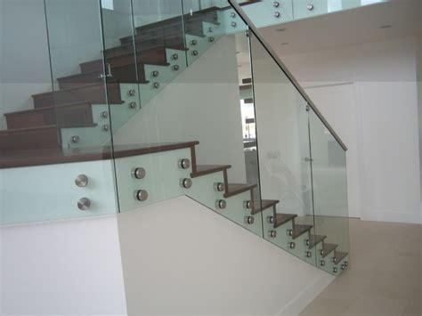 furniture homebeach themed bathroom tiles clear tempered glass glass stair railings with standoffs contemporary