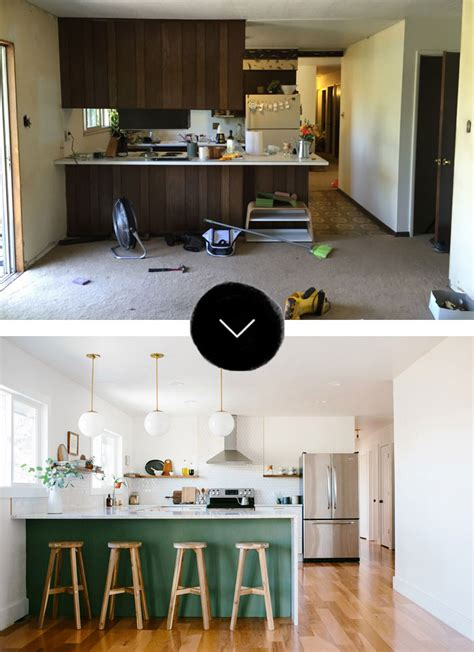fixer after before after a fixer gets a new kitchen in denver
