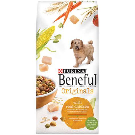beneful food walmart beneful food originals with real chicken 15 5 lb bag walmart