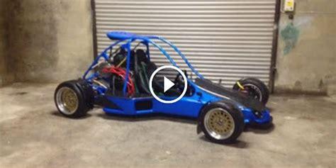 handmade drift buggy powered   gsxr  motorcycle