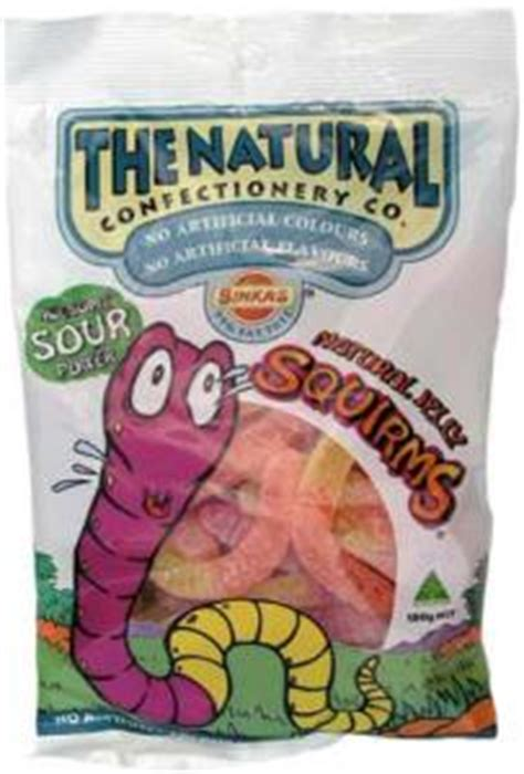 The Sour Squirms jelly sour squirms simplyoz simply australian