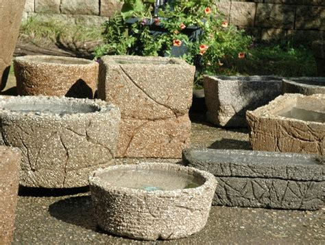 Unique Planters For Sale by Hypertufa Pots Planters