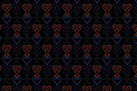 pattern of the kingdom kingdom hearts symbol pattern by roflcharger on deviantart
