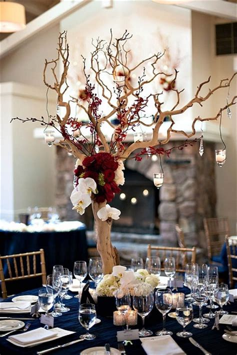 winter wedding tree centerpieces 23 vibrant fall wedding centerpieces to inspire your big day