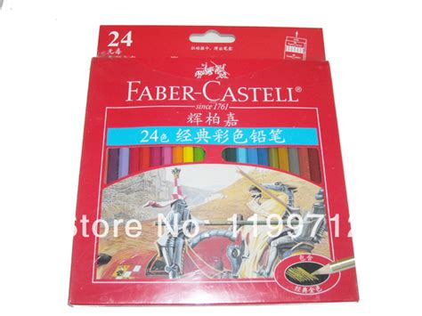 Pensil Warna Faber Castell Classic 24 faber castell 24 classic color pencil colored drawing artist set on aliexpress alibaba