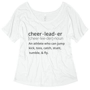 design apparel meaning cheerleader definition