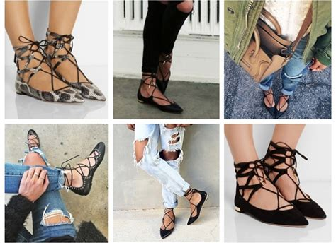 Ways To Wear Lace by Rock The Trend How To Wear Lace Up Flats