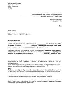 Exemple De Lettre Pour Demande De Logement Hlm Lettre Gratuite De Demande De Logement