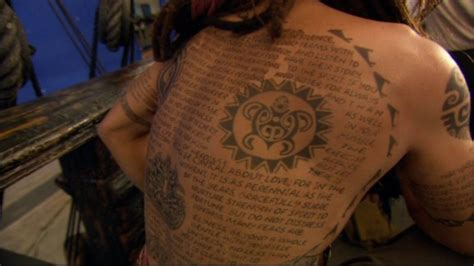 desiderata tattoo sparrow costuming a pirate s compendium