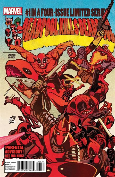 deadpool covers deadpool kills deadpool 1 secret wars variant cover war