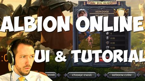tutorial albion online what is albion online part 1 ui and tutorial youtube