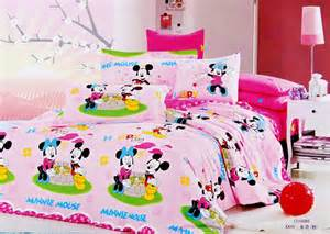 Mickey And Minnie Bed Set Pink Mickey And Minnie Mouse Bedding Sets Kids Bedding Sets