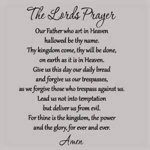 Bible Verse Wall Stickers a study of the lords prayer community fellowship church
