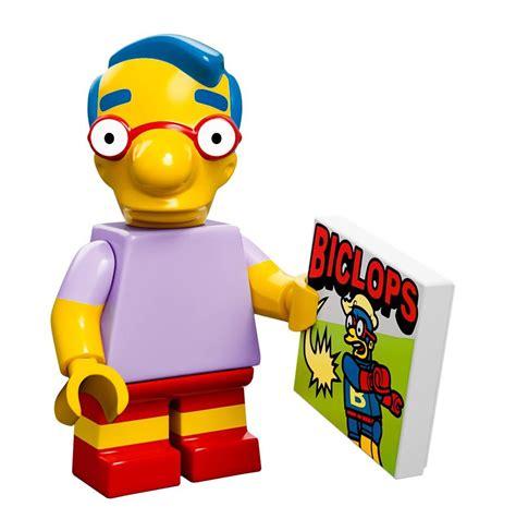 Lego Series Simpsons Millhouse lego simpsons minifigures series photos fully revealed