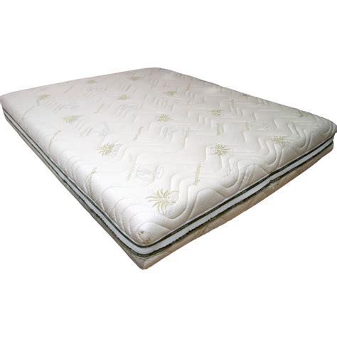 materasso in memory materasso memory foam alto 22 o 24 cm rivestito aloe vera