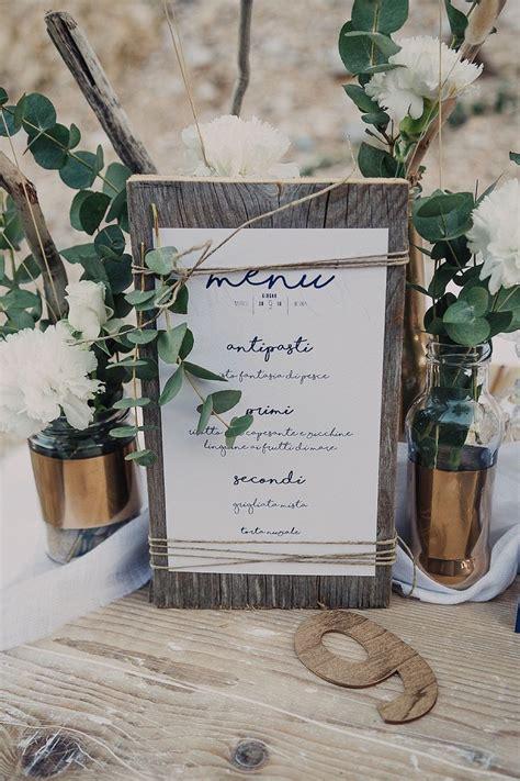 wedding table menu ideas best 25 rustic wedding menu ideas on wedding