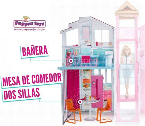 barbie  story furnished townhouse mattel juguetes