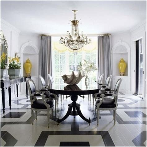 Kris Jenner Home Decor by Comedores Elegantes En Color Blanco