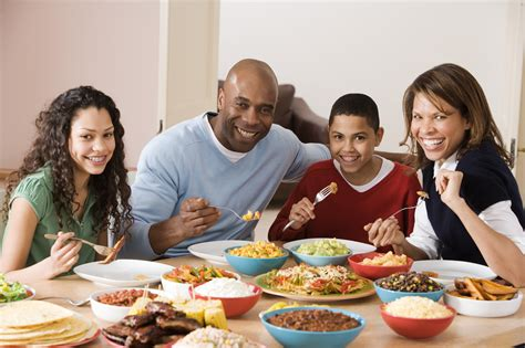 family meal time memorial health live well online