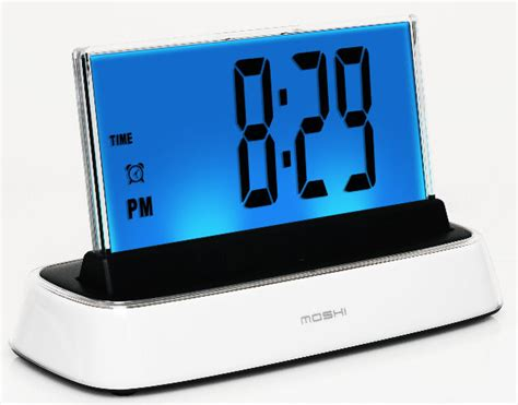 Big Wall Clocks by A Great And Affordable Alarm Clock Moshi Speaks And