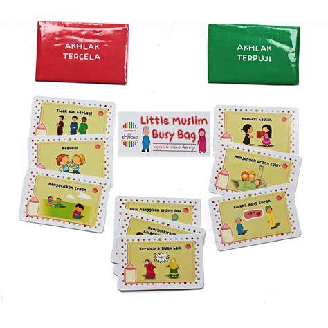 El Hana Busy Bags Learning Kit el hana muslim busy bag