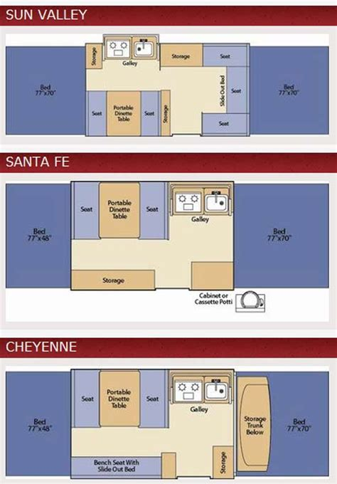 coleman tent trailers floor plans roaming times rv news and overviews