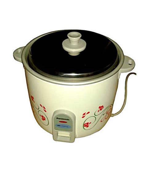 Rice Cooker Cosmos 2 Liter panasonic 2 2 l srwa 22f rice cooker price in india buy panasonic 2 2 l srwa 22f rice cooker