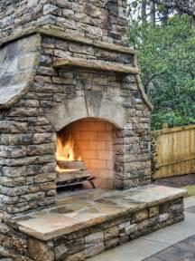 Simply Primitive Home Decor garden cool patio decoration with masonry fire rock
