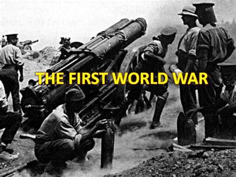 war design for powerpoint ppt first world war iib1