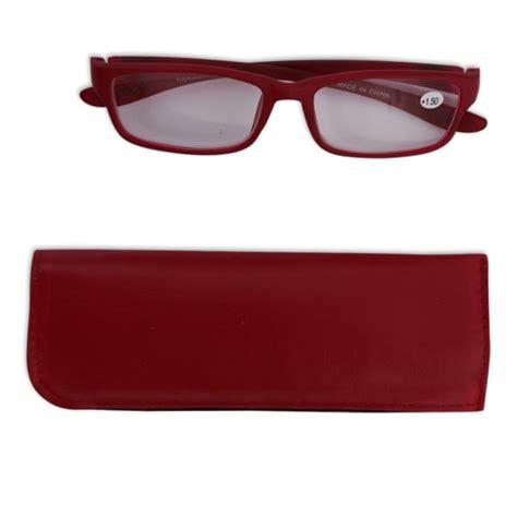 Frame Kacamata 2828 Merah 3 jual teem kacamata baca frame 1 50 tf103 merah ruparupa