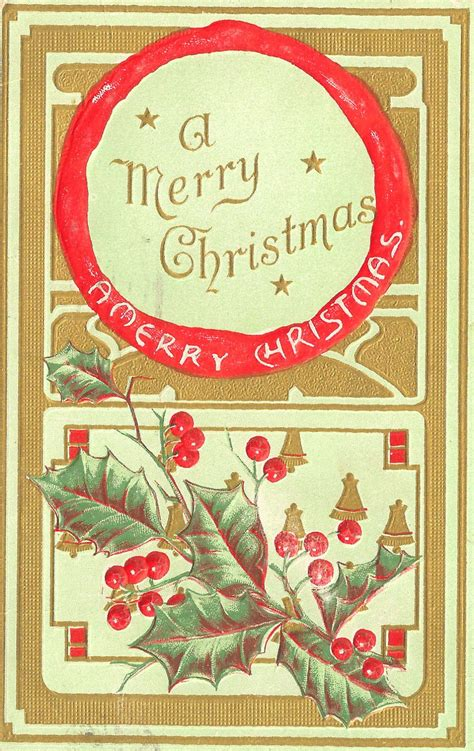 antique images  printable christmas label vintage christmas gift tag label design