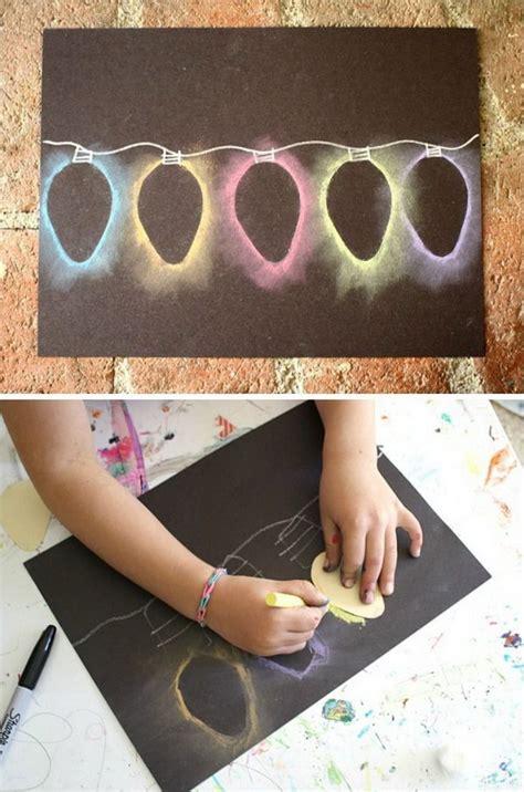 christmas lights arts and crafts 25 diy christmas cards ideas tutorials