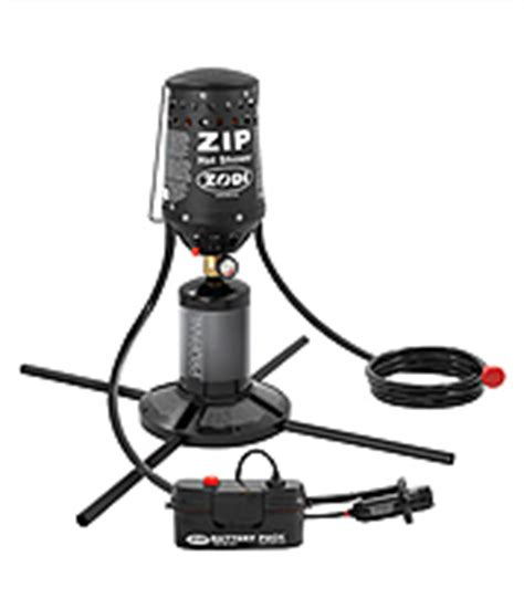 Zodi Zip Shower by Zodi Portable Instant Shower Shower Accessories