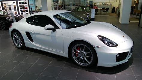 White Porsche Cayman S Porsche Cars