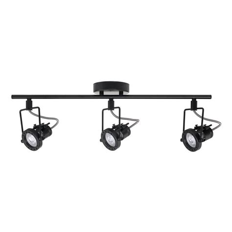 globe electric track lighting globe electric desmond collection led 3 light black track