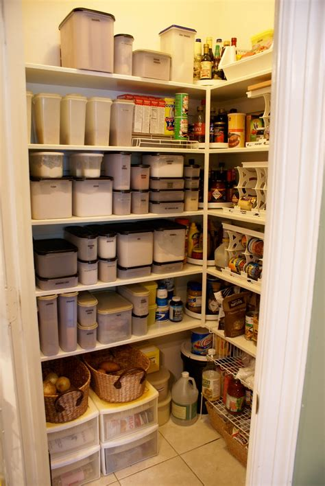 kitchen pantry organization baskets pantry