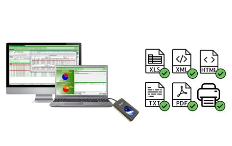 ftm  software absensi karyawan  fingerprint