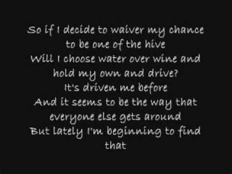 drive incubus lyrics 17 best images about music on pinterest rise against