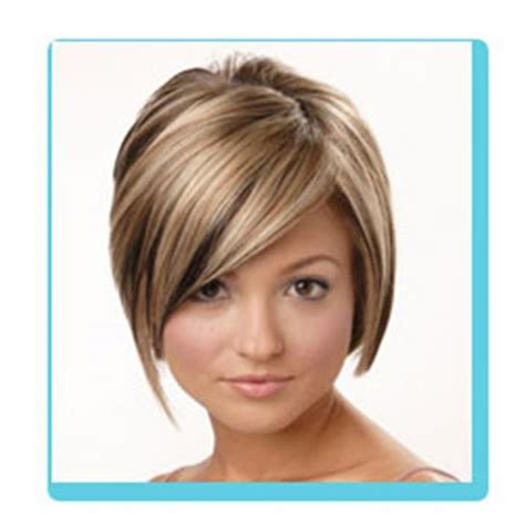 haircuts and color for round faces bing very short haircuts for women with round faces