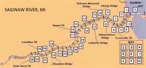 map of saginaw detroit district gt missions gt operations gt saginaw river mi