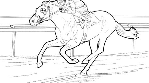 coloring pages of race horses barrel racing coloring pages horse horse barrel racing