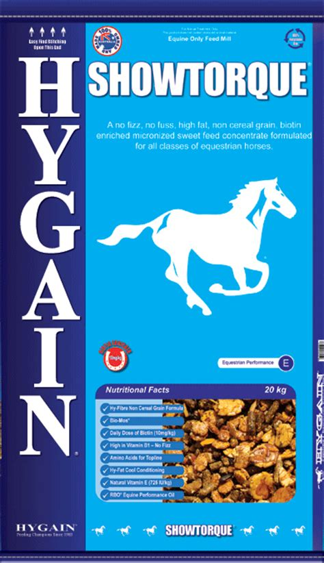 Feed Name Hygain Showtorque Cool Competition Feed For Topline