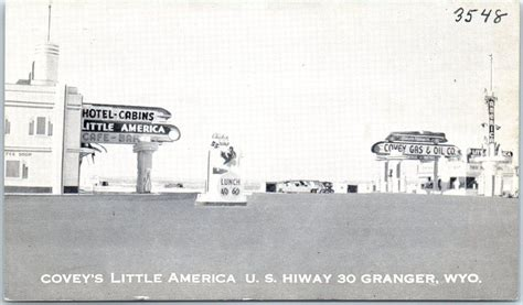 little america wyoming postcard signs gas station - Boat Supplies Port Lincoln Catalogue