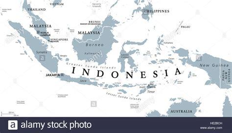 indonesia political map  capital jakarta islands