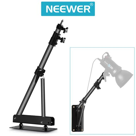 wall mount strobe light triangle wall mounting boom arm for studio strobe lights